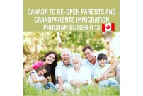 Canada to re-open parents and grandparents immigration program (october 13)